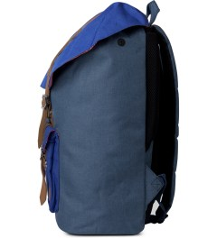 Herschel Supply Co. Cobalt Crosshatch Classics Little America Backpack Model Picutre