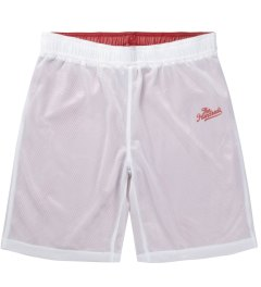 The Hundreds Red/White Allsport Basketball Short Picutre