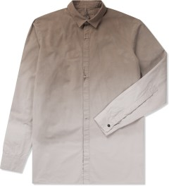 SILENT Damir Doma Brown Serin Basic Gradient Shirt Picutre