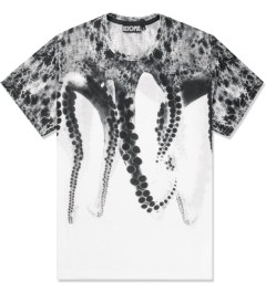 OCTOPUS White S/S Poly T-Shirt Picutre