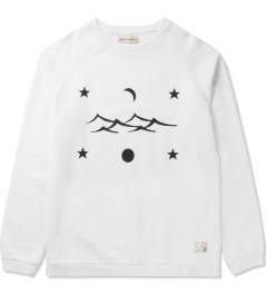 Libertine-Libertine White/Black Grill Space Sweatshirt Picutre