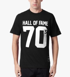 Hall of Fame Black 70's T-Shirt Model Picutre