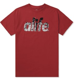 ALIFE Red Naturalize T-Shirt Picutre