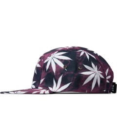 HUF Red Tie-dye Plantlife Volley Cap Model Picutre