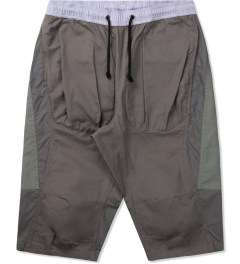 CLOT Lavender/Grey Tonal Panel Shorts Picutre