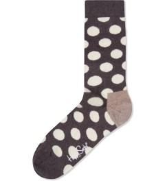 Happy Socks Brown Big Dot Socks Picutre