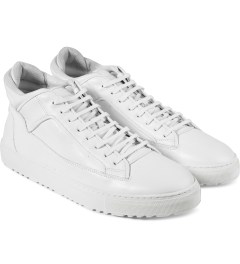 ETQ All White Mid Top 2 Shoes Model Picutre