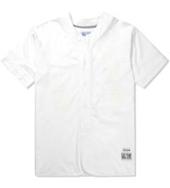 Hall of Fame White Mercy Baseball Jersey Picutre
