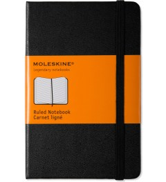 MOLESKINE Black Ruled Pocket Size Notebook Picutre