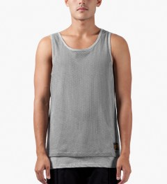 10.Deep Heather Grey Rude Boy Tank Top Model Picutre