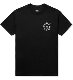 HUF Black Crossed S/S T-Shirt Picutre