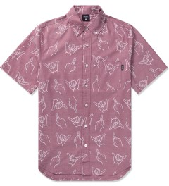 Primitive Red HLFU S/S Woven Shirt Picutre