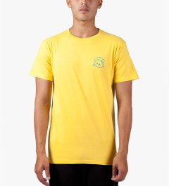 The Quiet Life Yellow Premium Concert T-Shirt Model Picutre