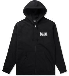 SSUR Black SSUR NYFC Zipped Hoodie Picutre
