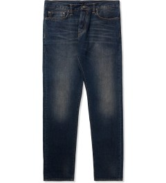 Carhartt WORK IN PROGRESS Blue Heritage Washed Klondike Pants II Picutre