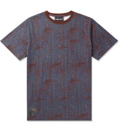 The Hundreds Maroon Focus Pocket T-Shirt Picutre