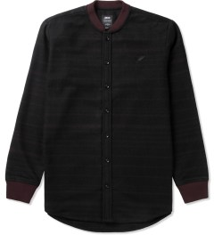 Publish Maroon Wess Button-Up Shirt Picutre