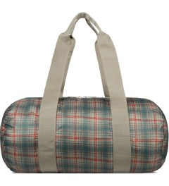 Herschel Supply Co. Grey Plaid Packable Duffle Bag Picutre