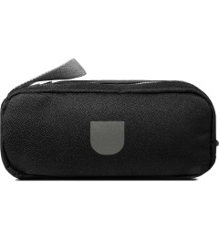 ULTRAOLIVE Black/Grey Pebble Double Pouch Picutre