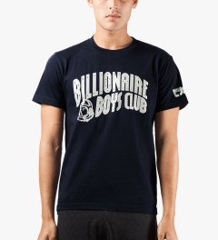 Billionaire Boys Club Navy YNKS T-Shirt Model Picutre