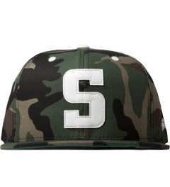 Stussy Camo Leather S Cap Picutre