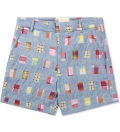 Band of Outsiders Multicolor Tailored Shorts Picutre