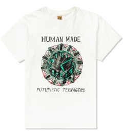 Human Made White Clock T-Shirt Picutre