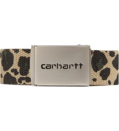 Carhartt WORK IN PROGRESS Leopard Print Chrome Clip Belt Picutre