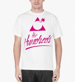 The Hundreds White You've Got Mail T-Shirt Model Picutre