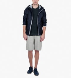 Reigning Champ Heather Grey RC-5019-1 Midweight Twill Fr Terry Sweatshorts Model Picutre