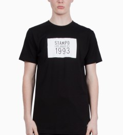 Stampd Black 1993 Box Logo T-Shirt Model Picutre
