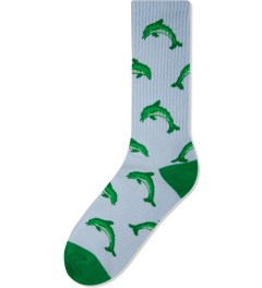 Odd Future Light Blue Jasper Dolphin HD Socks Picutre