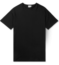 SUNSPEL Black S/S Crewneck T-Shirt Picutre