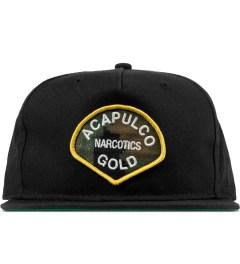 Acapulco Gold Black AG Narcotics Snapback Cap Picutre