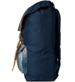 Herschel Supply Co. Navy Cabin Little America Backpack Model Picutre
