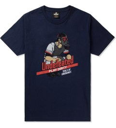 Undefeated Navy Catcher T-Shirt Picutre