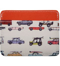 Herschel Supply Co. Synchro Red/Rad Cars Charlie Cardcase Model Picutre