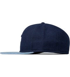 "SATURDAYS Surf NYC Blue ""S"" Baseball Cap Model Picutre"