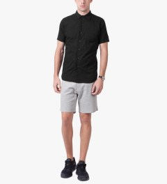 ETHOS Black Hagi Shirt Model Picutre
