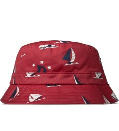 Odd Future Red Sinking Boat Bucket Hat Picutre