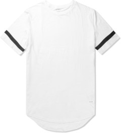 Stampd White Elongated LA T-Shirt Picutre