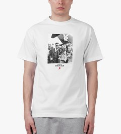 Acapulco Gold White Jet-setter T-Shirt Model Picutre