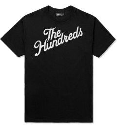 The Hundreds Black Forever Slant T-Shirt Picutre