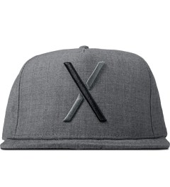 10.Deep Heather Grey Larger Living Snapback Cap Picutre