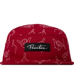Primitive Red HLFU 5-Panel Cap Picutre