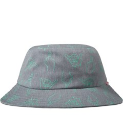Primitive Grey HLFU Bucket Hat Picutre