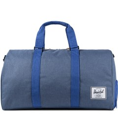 Herschel Supply Co. Cobalt Crosshatch Novel Duffle Bag Picutre