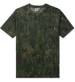 Carhartt WORK IN PROGRESS Cactus Print S/S Sierra Pocket T-Shirt Picutre