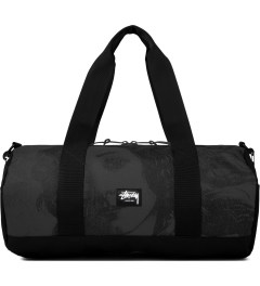 Stussy Dark Grey World Tour Large Duffle Bag Picutre