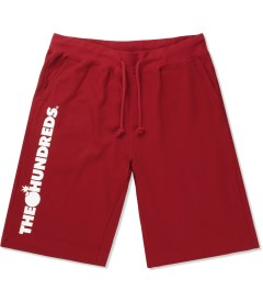 The Hundreds Red Bars Sweat Short Picutre